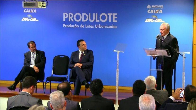 Temer fala sobre o risco Brasil