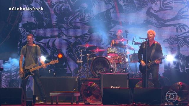 The Offspring canta 'Come Out And Play' no Rock in Rio