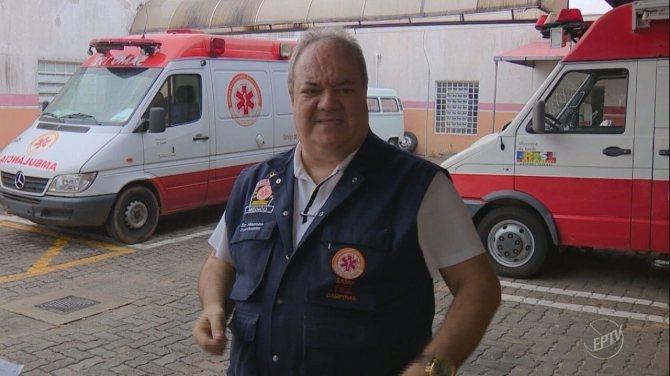 Morre o médico José Roberto Hansen, coordenador do Samu de Campinas