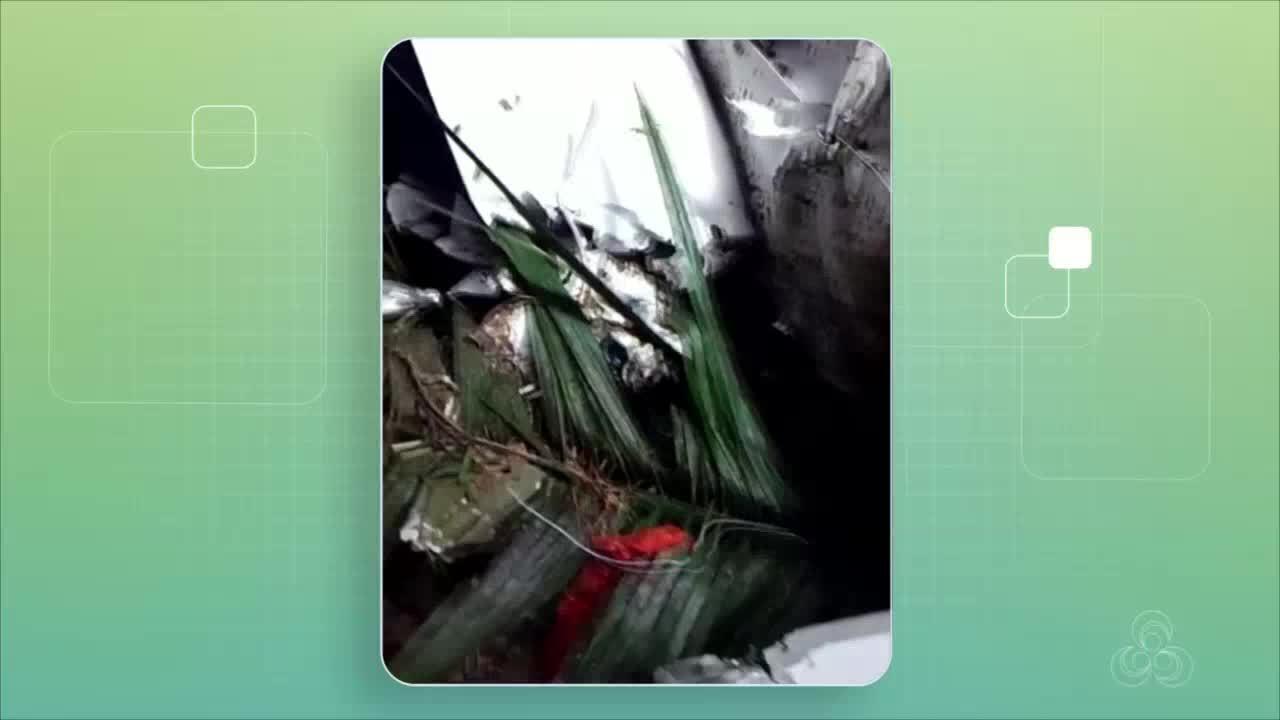 Ouro é encontrado em destroços de avião que caiu no Amazonas