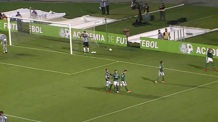 Melhores momentos: Palmeiras 4 x 0 Santos pela 5ª rodada do Brasileirão