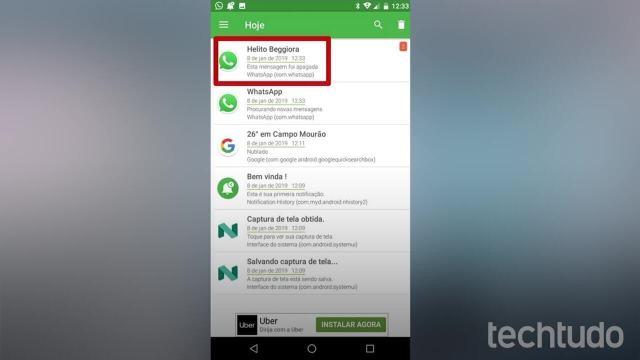 Como recuperar áudio apagado do WhatsApp