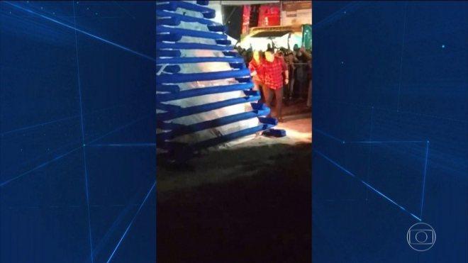 Explosão de fogueira fere prefeito de Osasco, primeira-dama e mais duas pessoas