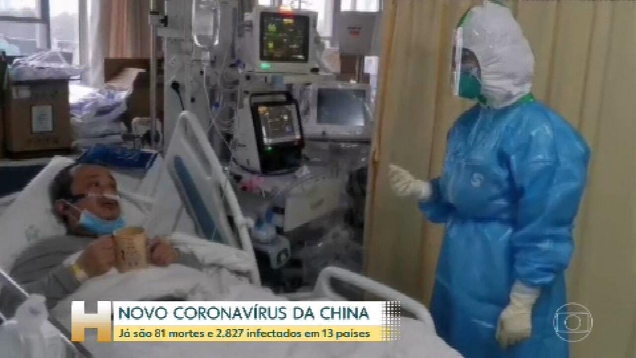 Número de mortos por coronavírus na China chega a 81 | Ciência e ...