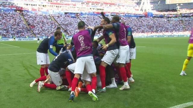 Os gols de França 4 x 3 Argentina pelas oitavas de final da Copa do Mundo 2018