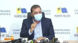 Jornal de Rondônia 1ª Edição   Prefeito de Porto Velho desabafa em ...