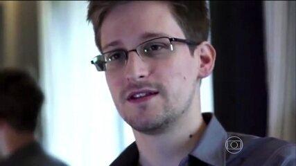 Edward Snowden revela em entrevista ao Fantástico que aceitaria viver no Brasil