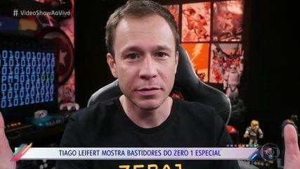 Tiago Leifert shows behind the scenes of the 'Zero 1' Special