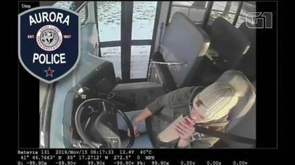Driver arrested for drinking while driving school bus in USA