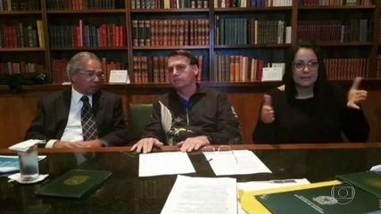 Bolsonaro afirma que governo vai prorrogar o auxílio emergencial