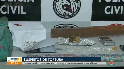 Suspeitos de tortura são presos em Campina Grande; Operação prende suspeitos de roubo de cargas