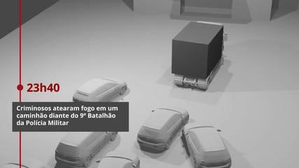 Quadrilha assalta Banco do Brasil no Centro de Criciúma (SC)