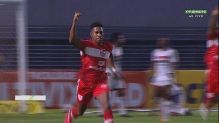 Melhores momentos de CRB 1 x 0 Botafogo-SP, pela 30ª rodada da Série B
