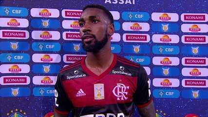 Gerson exalta vitória do Flamengo e denuncia racismo de Ramírez, do Bahia