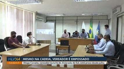 Da cadeia, vereador preso por tráfico de drogas é empossado no Paraná | Norte e Noroeste | G1