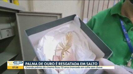 Palma de Ouro é resgatada em Salto
