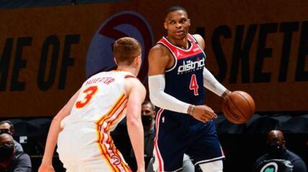 Melhores momentos: Atlanta Hawks 125 x 124 Washington Wizards pela NBA