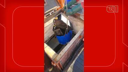 Toneladas de cocaína são encontradas em barco pesqueiro que ia para África em SC