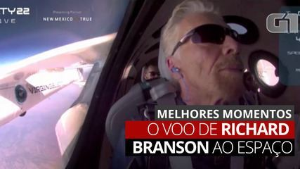 VIDEO: See the highlights of Richard Branson's flight into space