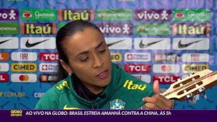 Regida por Marta em sua quinta Olimpíada, Seleção Feminina estreia contra a China nesta quarta-feira