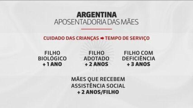 Argentina: cuidar dos filhos vai contar para aposentadoria das mães