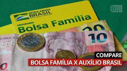 VÍDEO: Veja as diferenças entre o Bolsa Família e o Auxílio Brasil