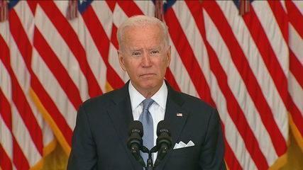 Biden: 'Não podemos entrar numa guerra se os afegãos não querem lutar'