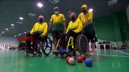 Meet families who will compete together in the Paralympics bocce