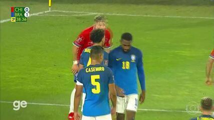 Chile vs Brazil - Best Moments