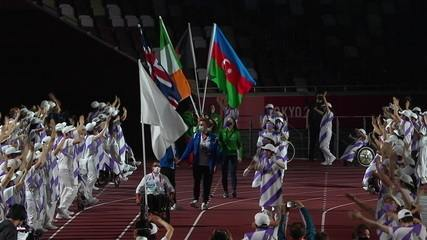 Athletes from Afghanistan Participate in Closing Ceremony