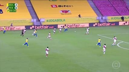 Highlights: Brazil 2 x 0 Peru, for the 10th round of the World Cup qualifiers