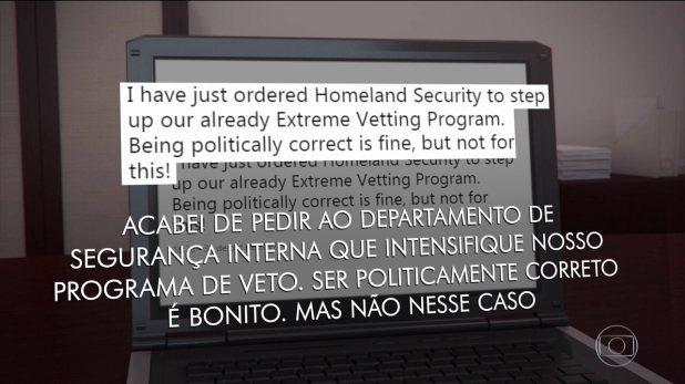 Donald Trump manda endurecer ainda mais o veto a imigrantes após atentado nos EUA