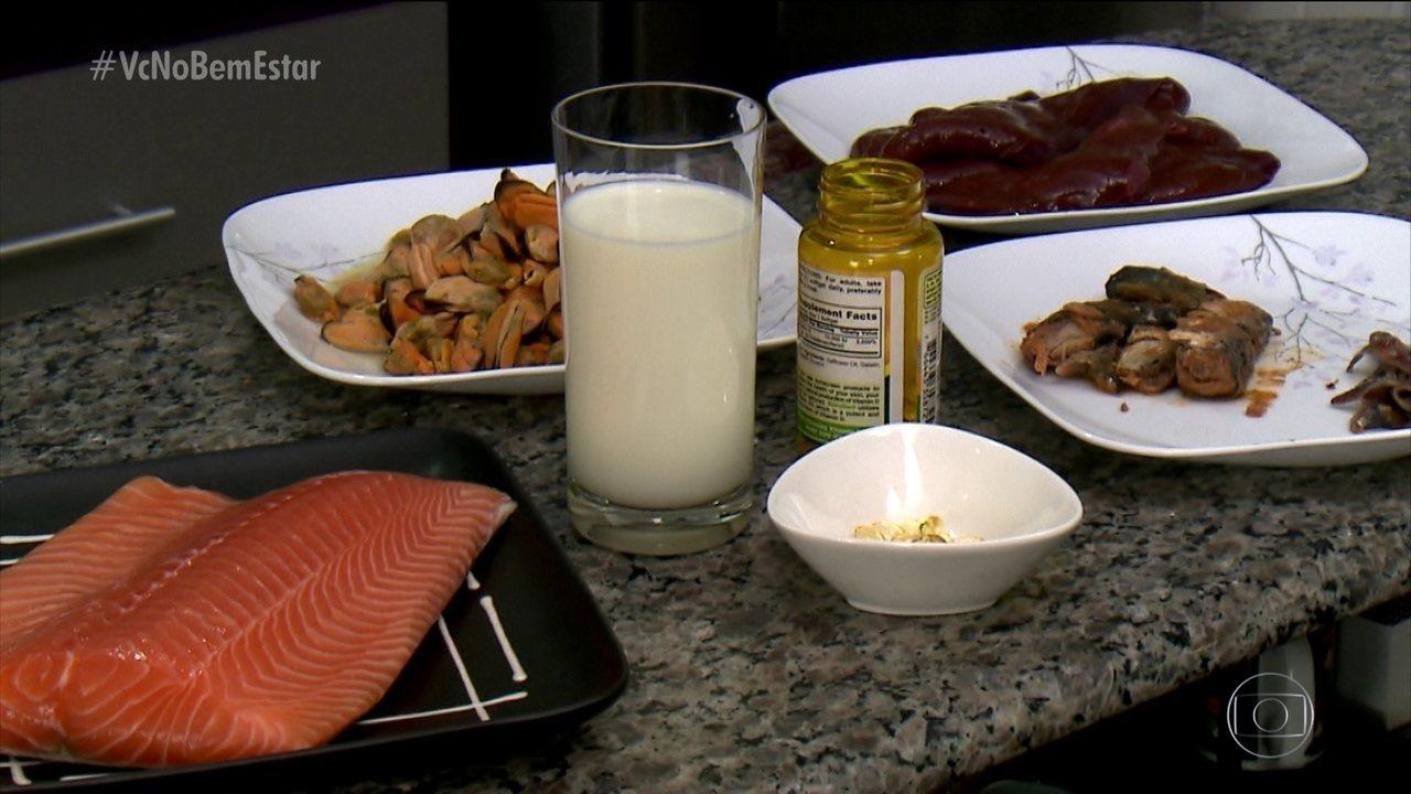 Alimentação pode ajudar na absorção de vitamina D
