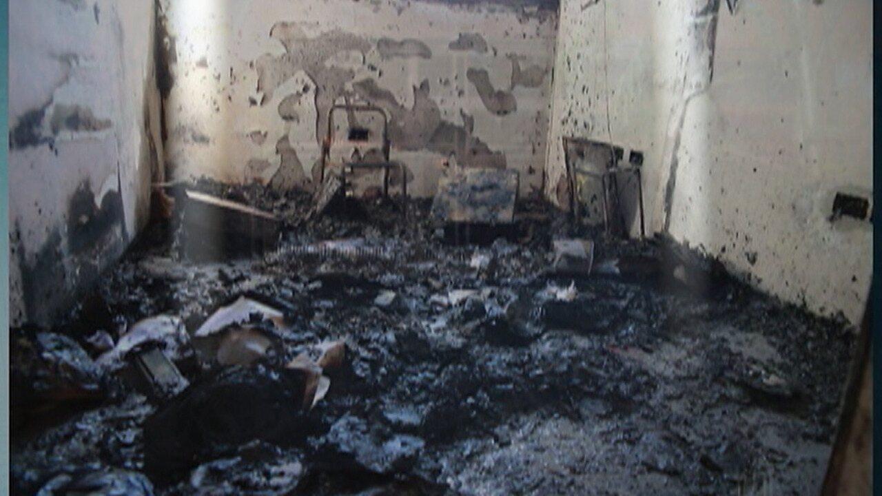 Posto de saúde de Suzano é incendiado em ato de vandalismo