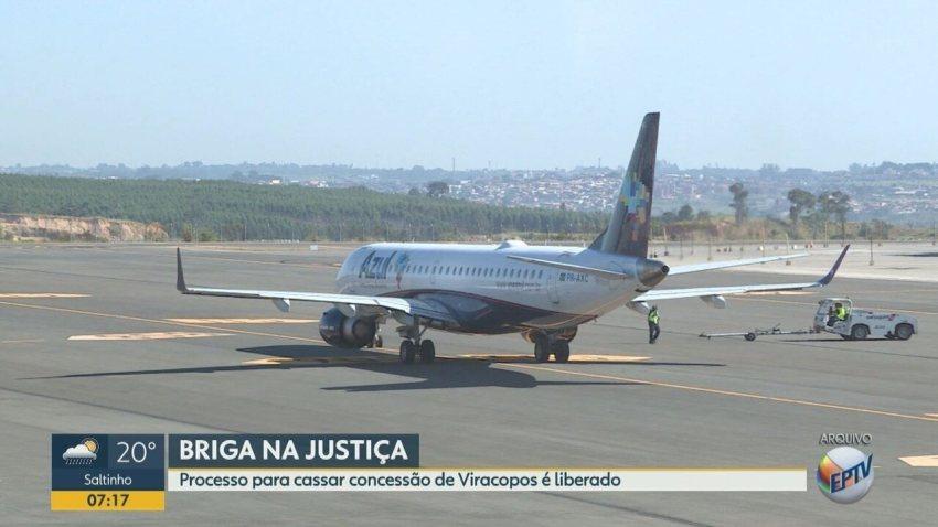 Justiça da aval para cassar concessão do Aeroporto de Viracopos