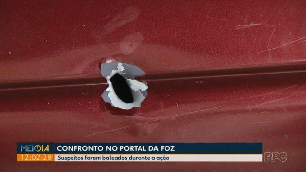 Assalto a compristas termina em confronto com a polícia no Portal da Foz