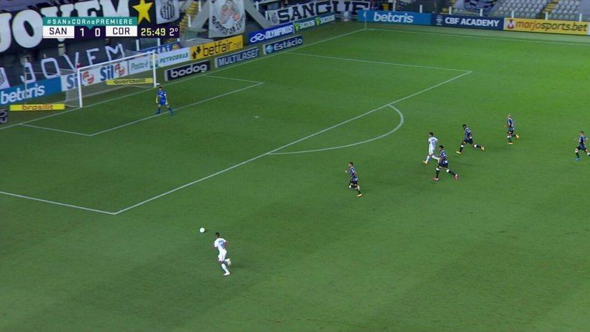 Melhores momentos: Santos 1 x 0 Corinthians, pela 33ª rodada do Brasileirão
