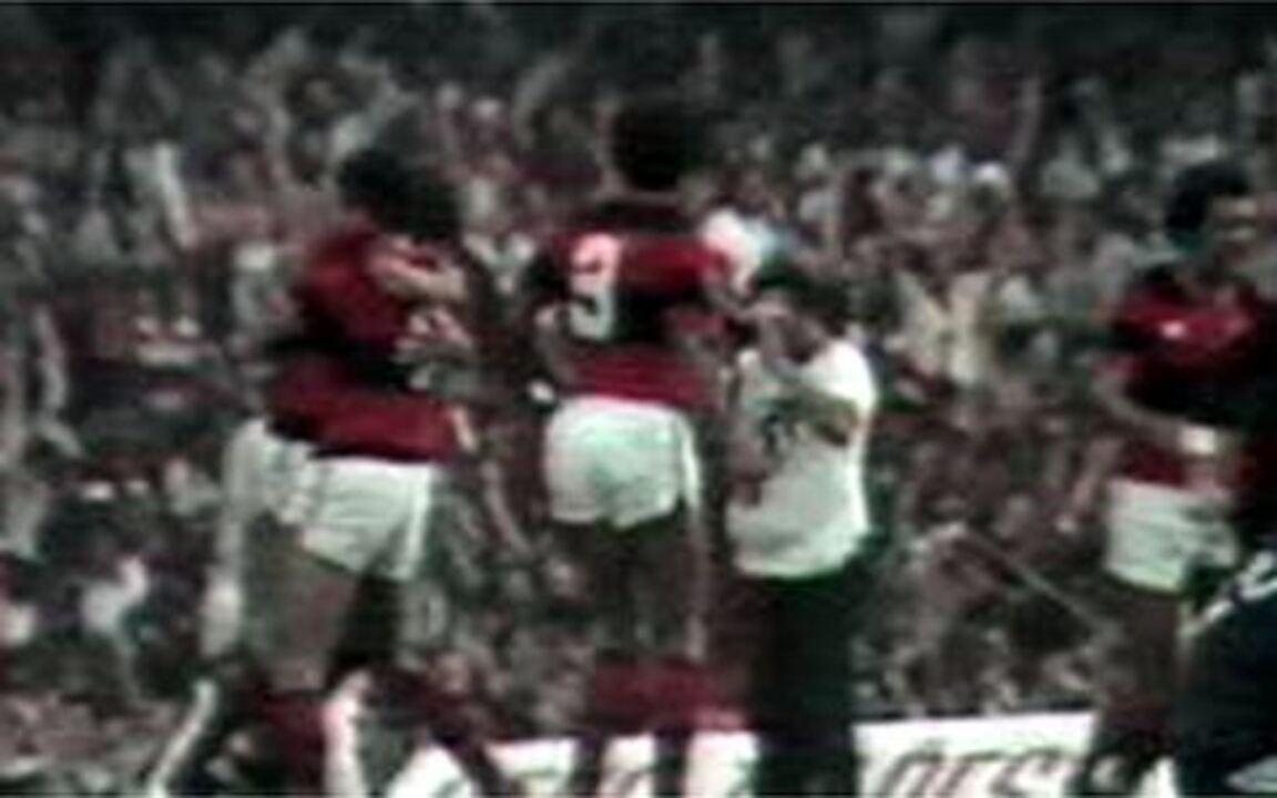 Em 1981, Flamengo derrota o Vasco por 2 a 1 pela final do Campeonato Carioca