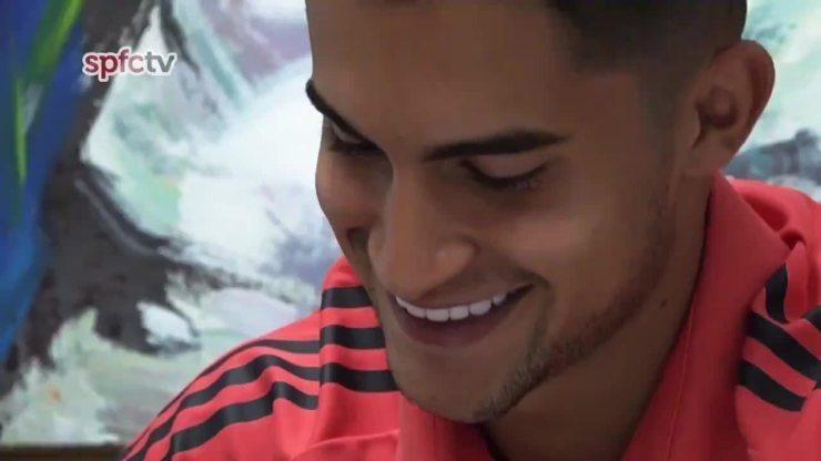 Rodrigo Nestor fala sobre a renovação de contrato com o São Paulo