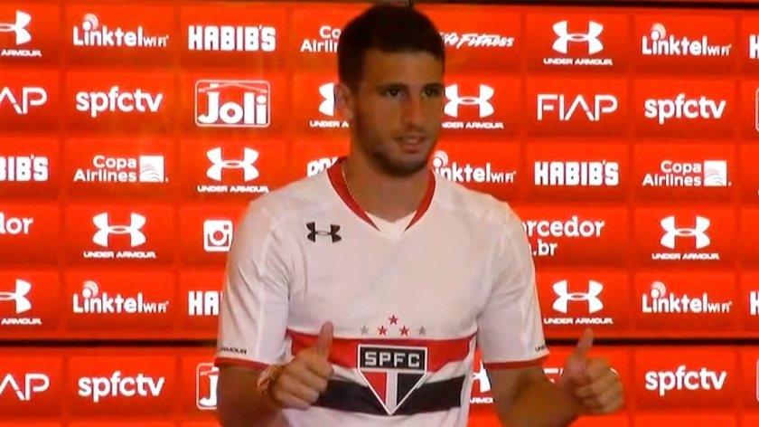 Calleri returns to São Paulo.  Remember the Argentine's goals for Tricolor