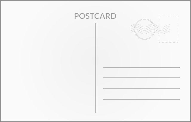 How to Address a Postcard  NextDayFlyers