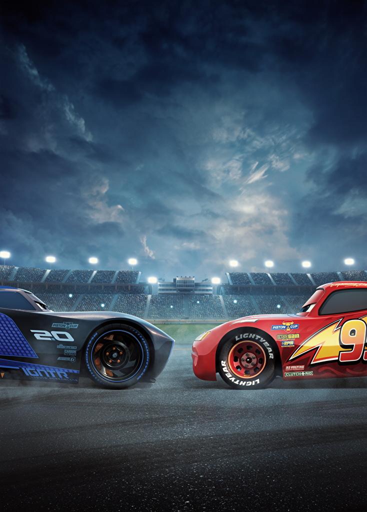 3 Lightning McQueen Jackson Storm