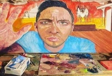 20201816461129RT_164941738 رجل يتحول إلى فنان موهوب بعد حادث سير تسبب بإصابته في الدماغ أدب و فنون