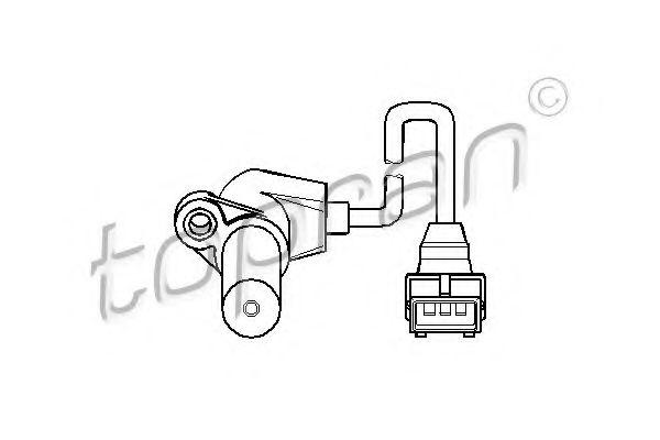 Senzor turatie, management motor OPEL Tigra I (95_) 1.4