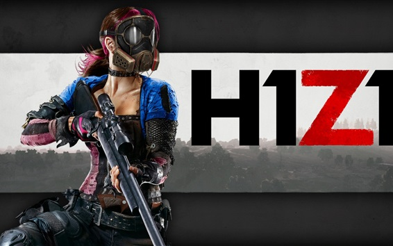 wallpaper h1z1 game girl