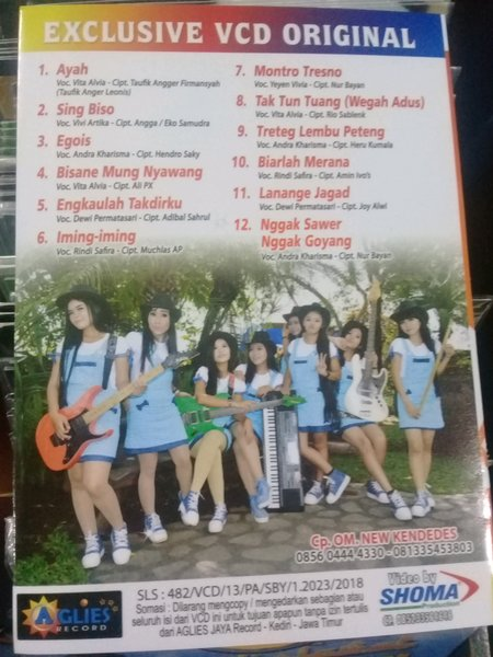 Download Haning All Artis New Kendedes MP3, 3GP, MP4