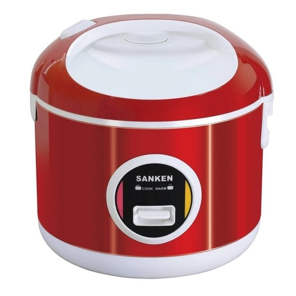 SANKEN Rice Cooker Stainless 6 in 1 SJ 3000