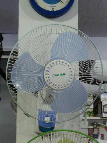 kipas angin dinding tembok 16 inch okayama - wall fan 16 murah
