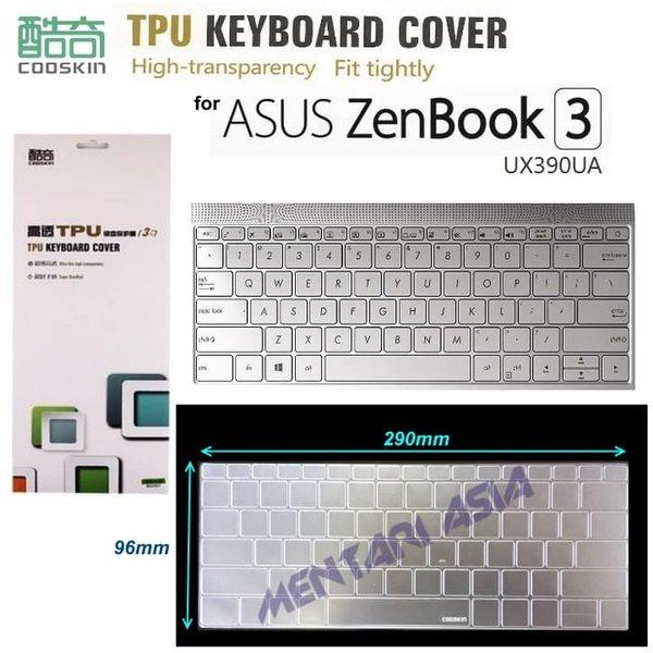 Aksesoris Laptop Keyboard Protector for ASUS ZenBook 3 UX390UA - COOSKIN Premium TPU