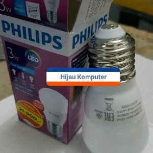 Lampu Led Philips 3w
